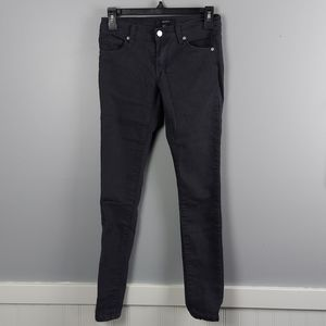 Black Skinny Jeans by Forever 21, size 24